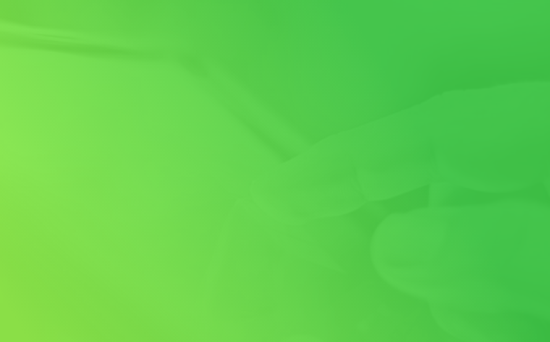 Fondo verde con tocar pantalla
