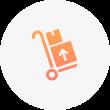 Icono de carga de paquetes